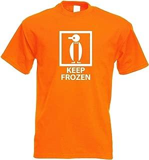 Kiwistar Keep Frozen - Frozen T-Shirt Printed Design Print Gift Idea
