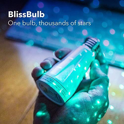 BlissLights Star Gazer Bundle: 1 Sky Lite + 3 BlissBulbs - Galaxy Star Projector Lights