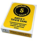 High-Quality Game Box Simple and Fast Set-up 320 Quality Game Cards, 50 Score Sheets, Instruction Booklet Not a Traditional Board Game, Easier to Play Than a Traditional Trivia Game Creates Fun Discussions and Friendly Disagreements