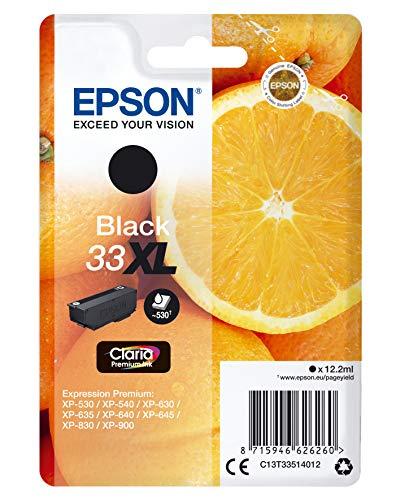 Epson C13T33514022 33XL Cartuccia d'inchiostro compatibile con Stampante Epson XP serie XL, Nero