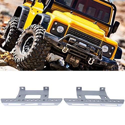 Pedal lateral duradero 1/10 del pedal lateral de la aleación de aluminio para el coche teledirigido decorativo(Silver A)