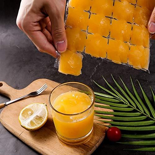 QINGJIA Innoxioso 10pcs Bolsa de hielo de paquete de frío disponible para alimentos para alimentos Molde de hielo Almacenamiento comestible Fabricante de congelación más rápido Magas de hielo para hac