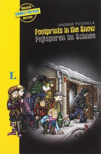 Langenscheidt Krimis für Kids - Footprints in the Snow - Fußspuren im Schnee: Englische Lektüre für Kinder, 1.-2. Lernjahr