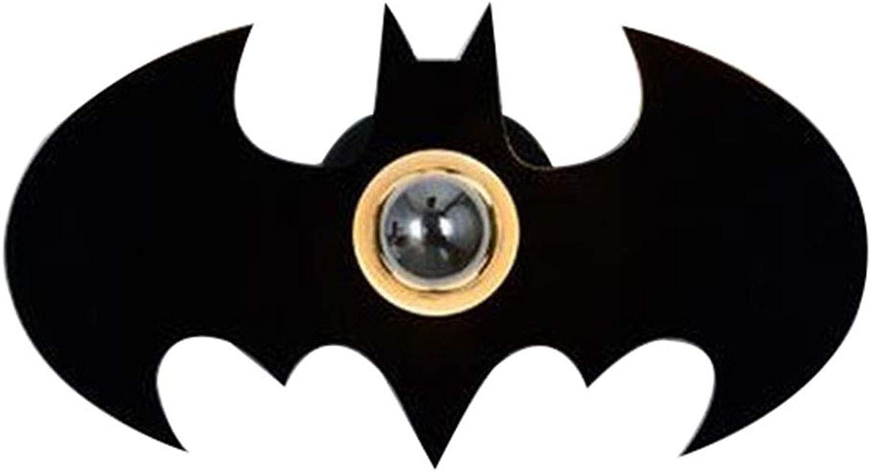 LED-Karikaturwandleuchte Schlafzimmerkinderzimmerwandleuchte Batman-Schattenwandleuchte,schwarz,32  18