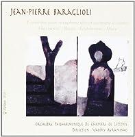 Saxophone Concerto: Baraglioli(Sax) Avramenko / Latvian +etc