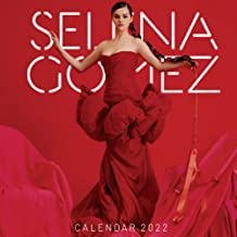 Selena Gomez Calendar 2022: Selena Gomez 2022 Planner with Monthly Tabs and Notes Section, Selena Gomez Monthly Square Cal...
