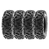 SunF 22x7-12 22x7x12 Tubeless 6 PR 22' ATV UTV Tires...
