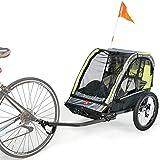 Allen Sports(アレンスポーツ) チャイルドトレーラー 正規輸入品 日本仕様 サイクルトレーラー (2人乗り)