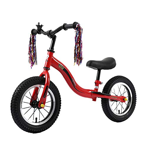 Kupper 12' Balance Bike Carbon Steel Frame No Pedal Pedal Balance Bike Training For Kids and Toddlers 2-To 6 Years Old. RedandSbends.