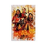 wanguan Red Dead Redemption II Poster Decorative Painting Canvas Wall Art Living Room Posters Bedroom Painting 16x24inch(40x60cm)