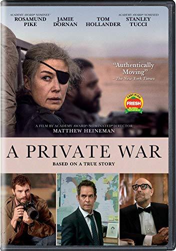 PRIVATE WAR, A DVD