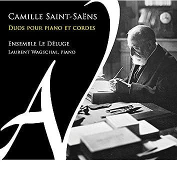 Camille Saint-Saëns: Duos pour piano et cordes
