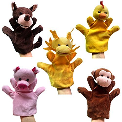 Happy Cherry - Set 5 Marionetas Juguetes Juegos Manos