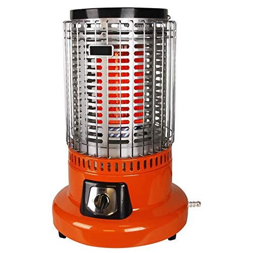 TcooLPE Calentador de Patio de Gas for Exteriores - Calentador de calefacción rápido a Prueba de Viento Multifuncional for jardín Fiesta de Bodas y Patio Comercial (Size : Liquefied Gas)
