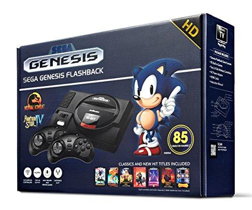Sega Genesis Flashback HD 2017 Console セガジェネシスフラッシュバックHD 2017コンソール 北米英語版 [...