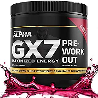 Pre Workout for Men - Sugar Free 30 Servings Cherry Flavor