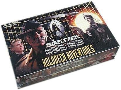 STAR TREK CCG HOLODECK SEALED BOOSTER BOX OF 30 PACKS