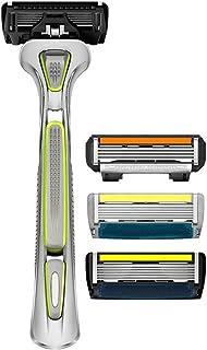 LetsShave Shaving Razor Trial Pack (Green)