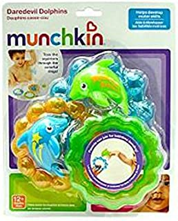 Munchkin Daredevil Dolphins Bathtub Toys (Discontinued by Manufacturer)