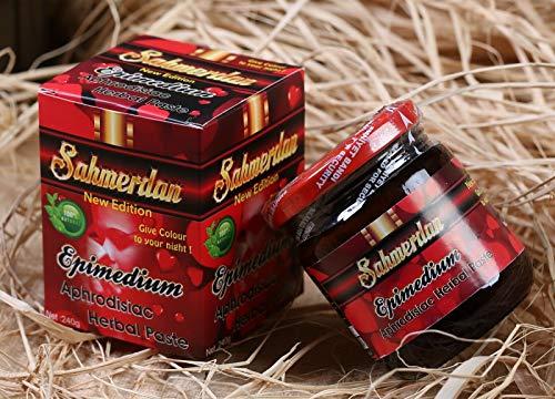 Sahmerdan Pasta de hierbas afrodisíacas