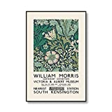 Impresión floral única de William Morris, exposición de imágenes de arte de pared floral, carteles e impresiones, pinturas de lienzo sin marco familiares A5 40x60cm