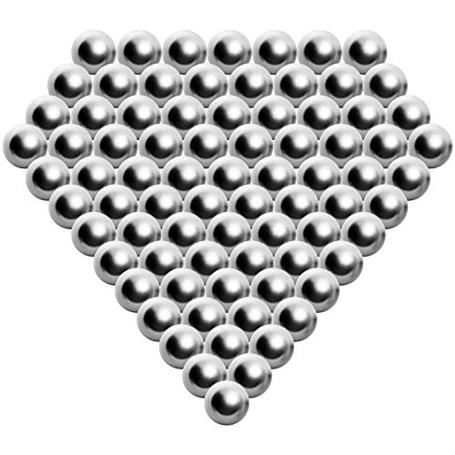 "1200 Pieces 3/8"" Slingshot Ammo Precision Steel Bearing Balls"