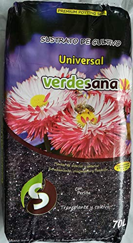 VERDESANA Sustrato de Cultivo Universal 70 litros