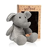 WILD BABY Microwavable Plush Pal - Cozy Heatable Weighted Stuffed Animal with Aromatherapy Lavender Scent, 12'...