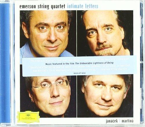 Intimate Letters (Janacek & Martinu) by Emerson String Quartet, Eugene Drucker, Philip Setzer, Lawrence Dutton, David Fi (2009) Audio CD