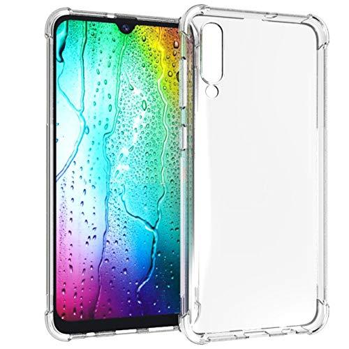 iMoshion kompatibel mit Samsung Galaxy A50/A30s Hülle – Shockproof Case Handyhülle – Silikon Schutzhülle in Durchsichtig/Transparent [Verstärkte Ecken, Stoßfest, Dünn]