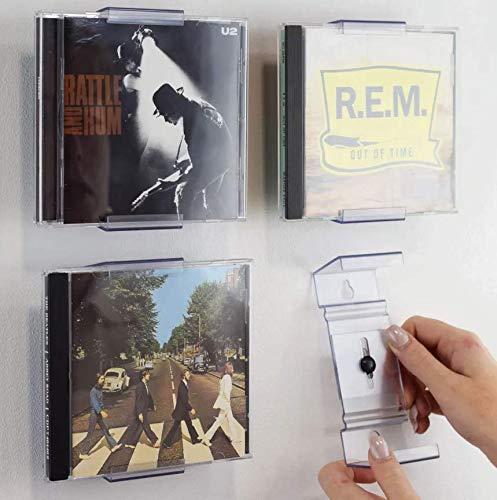 画鋲一つで壁に飾ることができる CD ウォールディスプレイ Album Frame Display CD 本 賃貸 壁 飾る [壁掛用]