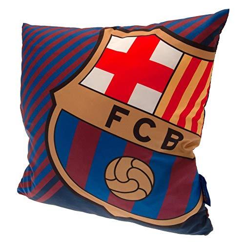 FC Barcelona Cojín relleno (talla única), color azul, rojo y amarillo