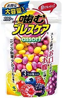 【お徳用 4 セット】 噛むブレスケア パウチアソート 100粒×4セット