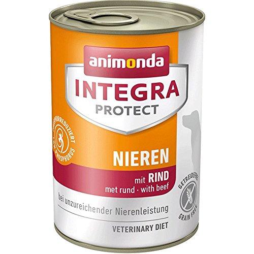 animonda Integra Protect Diät Hundefutter, Nassfutter bei chronischer Niereninsuffizienz,  mit Rind, 6 x 400 g