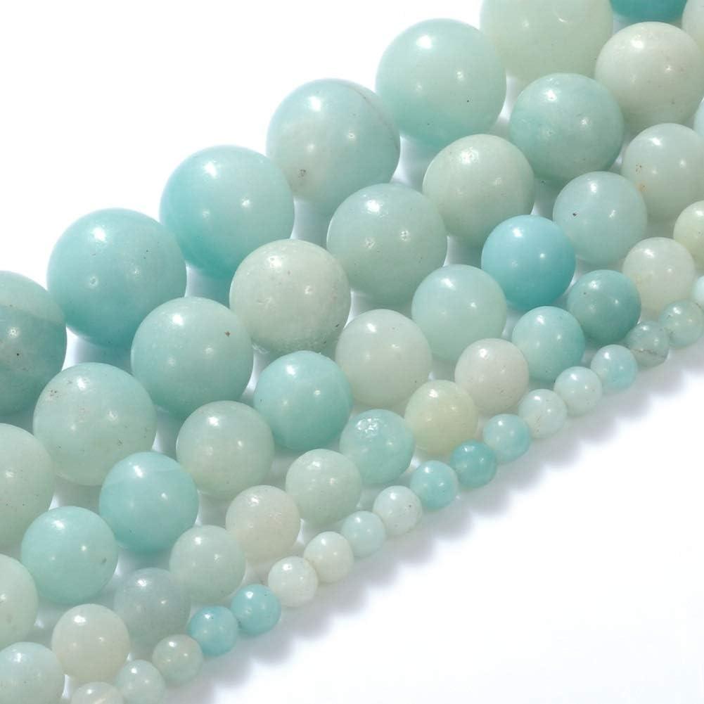 Korea Jewelry 4 mm Aqua Blue Rhinestone Pendant Aqua Blue Gemstone Choker Pearl Beaded Necklace Tourmaline Magnetic Clasp 4 mm Beads