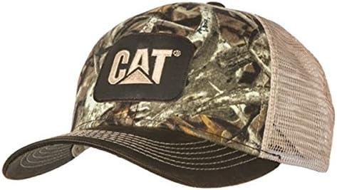 BD&A Caterpillar CAT Equipment Next Camo Snapback Mesh Hunting Cap/Hat
