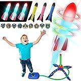 Jouet Enfant Stomp Rocket, Jouet Garcon 4 5 6 7 8 Ans,Cadeau Enfant 3 Ans,Jouet Exterieur Enfant