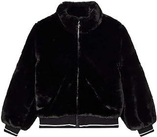 NAME IT Nkfmanette Faux Fur Bomber Jacket Chaqueta para Niñas