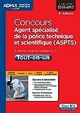 Concours Agent spécialisé de la police technique et scientifique (ASPTS) Catégorie C - Tout-en-un - Concours 2016-2017