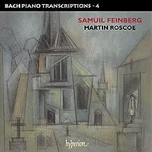 Bach, J.S.: Piano Transcriptions Vol.4