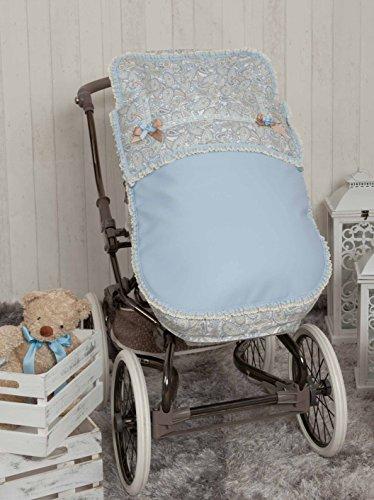 Babyline Caramelo - Saco para silla de paseo, color azul