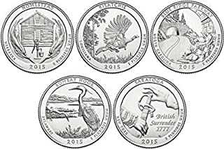 2015 P National park quarter Choice About Uncirculated
