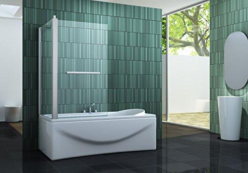 Eck-Duschtrennwand INTREXO 70 (Badewanne)