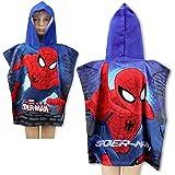 Poncho con capucha/capa de baño Spiderman x 55 x 110 cm