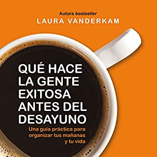 Qué hace la gente exitosa antes del desayuno [What Successful People Do Before Breakfast] audiobook cover art