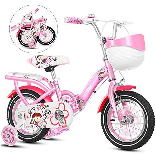 Bicicleta plegable de los niños, las niñas de bicicletas for niños, bicicletas infantiles de aprendizaje en el tamaño de 12 pulgadas, 14 pulgadas, 16 pulgadas, plegable for niños for bicicleta con la