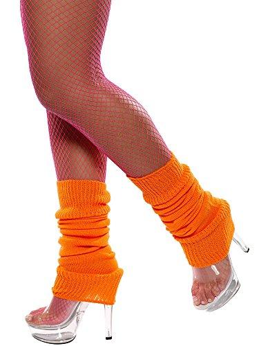 Smiffy's - Calentadores, Color Naranja (31048)