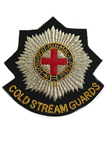 coldstream guards military blazer badge