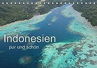 Indonesien pur und schoen (Tischkalender 2022 DIN A5 quer): Indonesien in seiner schoensten Form. (Monatskalender, 14 Seiten )