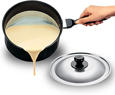 Hawkins Futura Non-Stick Sauce Pan with Lid, 3 Litres